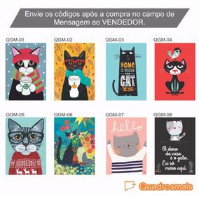 Tela Gato Cubista - Quadros Decorativos no Mercado Livre Brasil 666031e8cb