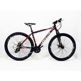 Bicicleta Absolute Aro 29 Preta 21 Vel.com Cambio Shimano