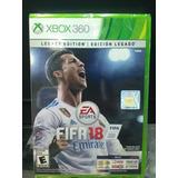 Fifa18 Xbox 360 Original Seminuevo