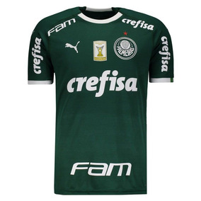 Camisa Puma Palmeiras I 2019 Com Patch 692cb6392d540
