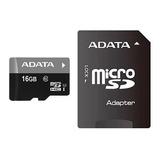 Cartão Memória Micro Sd A-data 16gb + 1 Adpt. Class 10