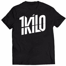 Camisa Camiseta Banda 1kilo De Rap Musica Hiphop Brasil a1545b1cba9e1