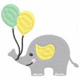 Elefante 23 - Sublime Matrizes De Bordado Infantil Lindo 6fbf6289e61