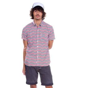 Camisa Levis Masculina Short Sleeve Sunset One Pocket