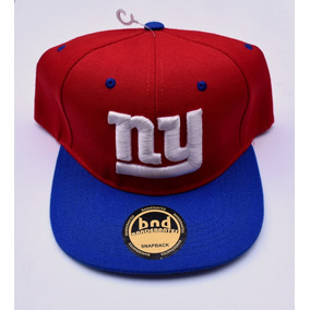 Gorra Plana Bordada   New York Giants   Ajustable 6f17cc8b63a