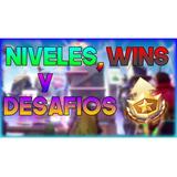 Hago Niveles, Wins Y Desafios Para Fortnite (pc,xbox,ps4)
