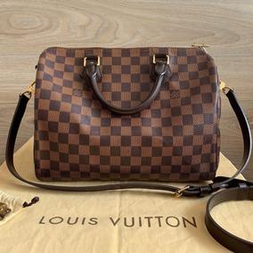 Bolsa Speedy Bandouliere 30 Damier Louis Vuitton Original