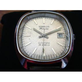 Reloj Steelco Futura. Automático 25 Joyas. 100% Original.