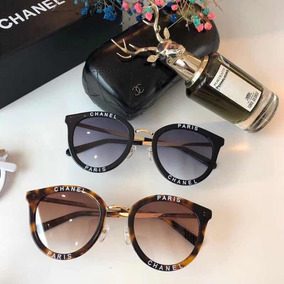 13be32acd6766 Grey %f3culos De Sol Chanel Ch 5205 888 3f Gloss Black - Óculos no ...