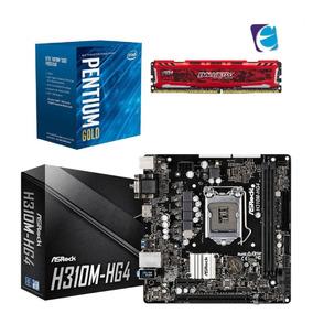 Kit Intel Pentium G5400 Mb Asrock H310m Hg4 8gb Bls Ddr4 I