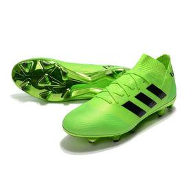 9f4f67a44e Chuteira Adidas Preta E Branca - Chuteiras Adidas para Adultos Verde ...