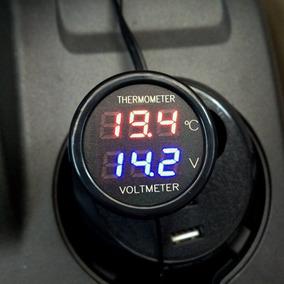 4c4c006ae72 Termometro Digital Automotivo - Som Automotivo no Mercado Livre Brasil