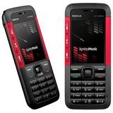 Nokia 5310 Xpressmusic Red ( Trinta Dia Uso ) Frete Gratis.