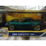 1/18 Corvette 2009 Jada En Caja