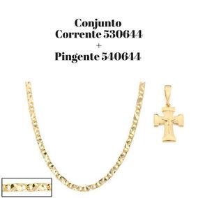 ad8af26858ae9 Corrente Rommanel 530644 - Joias e Bijuterias no Mercado Livre Brasil