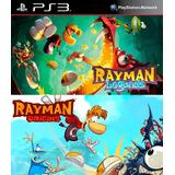 Rayman Legends + Rayman Origins Ps3 Digital Gcp