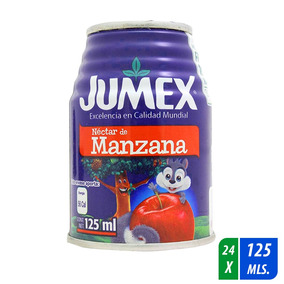 Néctar Jumex Manzana 24 Latas De 125 Ml C/u