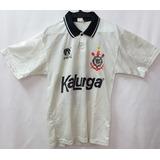 Camisa Corinthians Oficial Finta Ano 1991 Kalunga Raríssima 48025e093e524