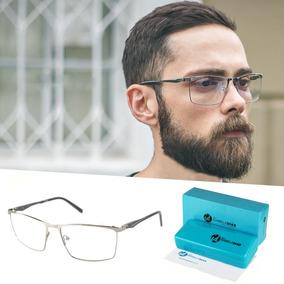 123db7a5e543c ... Oculos De Sol E Grau Otica Barata. 9 vendidos - São Paulo · Armação  Óculos Grau Metal Masculino Original Isa Dias 7052
