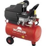 Compressor De Ar 2hp Pistão 24l 8 Bar 6l Worker 127v Df