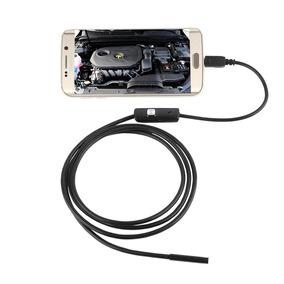 Câmera Inspeção Sonda Endoscópica Android 6 Leds Usb 1.0m