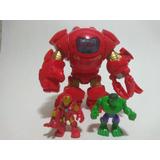 Figura Hulkbuster Armadura Iron Man Imaginext