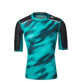 e820d17a30 Camisa Térmica Compressão adidas Estampada Techfit Chill