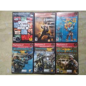 6 Jogos Originais De Playstation 2