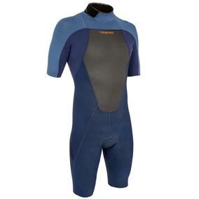 Traje De Surf 500 Hombre Azul Neopreno 2 Mm Triboard f24ede27139