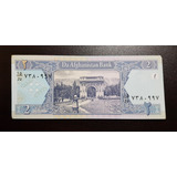 Billete Afghanistan 2 Afganis 2002