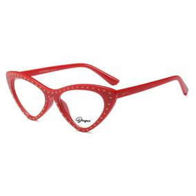 Armações De Óculos De Grau Moda 2019 Armacoes - Óculos Vermelho no ... 808f174e48