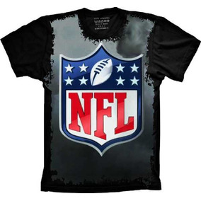 Camiseta 5%off Plus Size Nfl Camisa Nfl Futebol Americano Nf