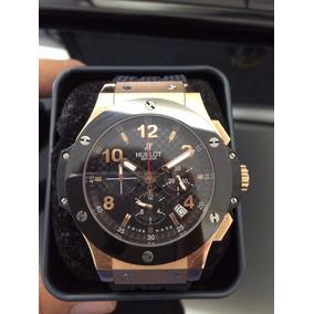 09580cfb168 Relogio Hublot Gold 750 - Joias e Relógios no Mercado Livre Brasil