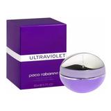 Perfume Importado Mujer Ultraviolet 80 Ml Edp Paco Rabanne