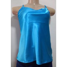 Kit Blusas De Cetim Alca Fina - Camisetas e Blusas no Mercado Livre ... 34554b40a59