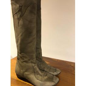 a42e3579d Botas Mujer Caña Alta - Zapatos de Mujer Verde