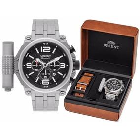 Relógio Orient Mbttc013 P2gx Lançamento Titânio Original