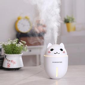 Humificador Gato, Ultrasonico, Con Lampara Y Ventilador