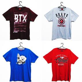 97327ac5c4646 Kit10 Camiseta Masculina Original Varias Cores Atacado. R  189