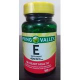 Vitamina E 400 Iu 100 Softgel Spring Valley