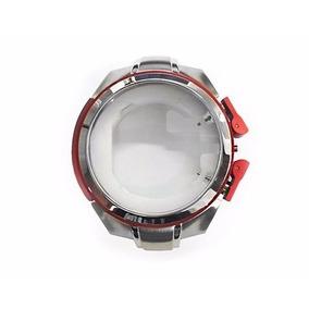 Caixa Completa C/ Vidro Para Relógio Armani Exchange Ax1040