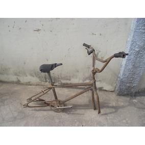 Antigo Quadro De Bicicleta Caloi Freestyle (cod.2574)