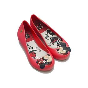 0d788b53e Sapato O Infantil Vermelho - Sapatilhas Meninas Melissa no Mercado ...