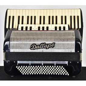 Acordeon Dellape Maestro Duplo Cassoto 4 Vozes