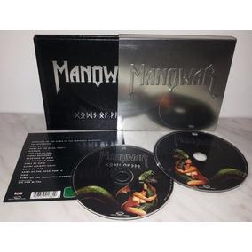 Manowar Gods Of War ( Cd + Dvd ) Caixa De Metal