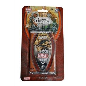 Marvel Origins Booster Pack 10 Pacotes 140 Cards