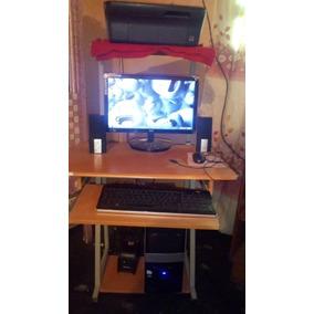 Computadora De Mesa Completa Con Su Impresora