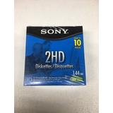 Disquettes Ó Diskettes Floppy Sony 3.5 Mf2hd Caja 10pzas