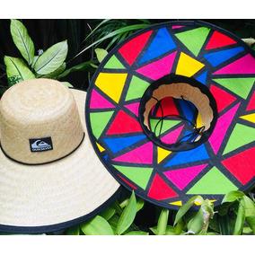 Chapéu De Praia Colorido - Acessórios da Moda no Mercado Livre Brasil bba91c5304f