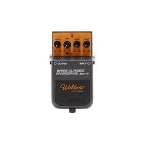 Waldman Bco-2 Bass Classic Overdrive Pedal Bai
